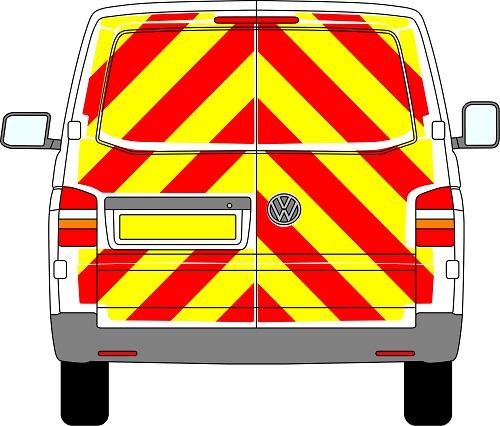 Volkswagen Transporter Chevrons 2003 - Present (Full/Prismatic)