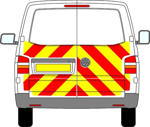 Volkswagen Transporter Chevrons 2003 - Present (Half/Engineering)