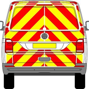 Volkswagen Transporter Tailgate Chevrons 2015 - Present (Full/Engineering)