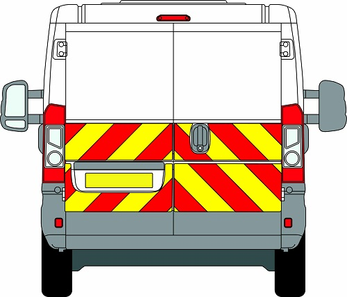 Citroen Relay H1 Chevrons Low Roof 2006 - Present (Half/Prismatic)