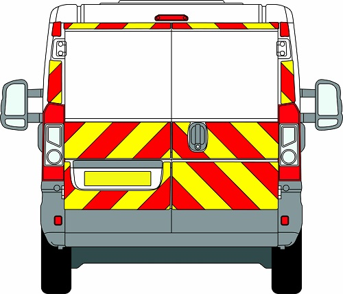 Citroen Relay H1 Chevrons Low Roof 2006 - Present (Three Quarter/Engineering)