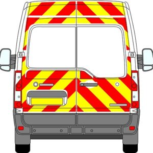 Nissan NV400 H2 Chevrons Medium Roof 2012 - Present (Three Quarter/Engineering)