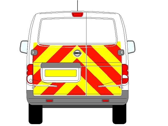 Nissan NV200 Chevrons 2009 - Present (Half/Engineering)