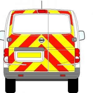 Nissan NV200 Chevrons 2009 - Present (Three Quarter/Engineering)