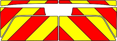 Isuzu D-Max Chevrons 2018 - Present (Full/Prismatic)