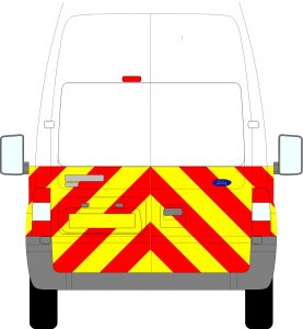 Ford Transit H3 Chevrons Extra High Roof 2006 - 2014 (Half/Engineering)