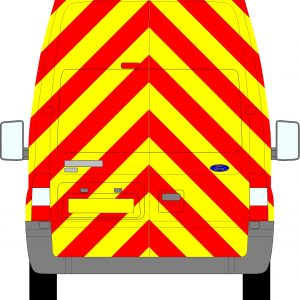 Ford Transit H3 Chevrons Extra High Roof 2006 - 2014 (Full/Engineering)