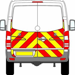 Volkswagen Crafter H1 Chevrons Normal Roof 2006-2017 (Half/Prismatic)