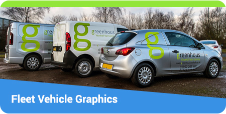 Fleet Vehicle Graphics - Cars, Vans and Trucks