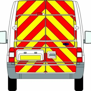 Ford Transit Chevrons Medium Roof 2006 - 2014 (Full/Engineering)