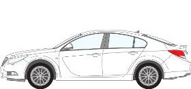 Insignia Hatchback 2008 - 2013