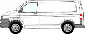 Transporter Tailgate 2003-2015