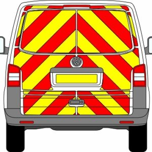 Volkswagen Transporter Tailgate Chevrons 2003 – 2015 (Full/Engineering)