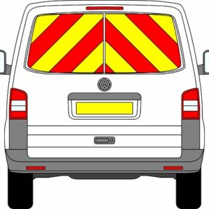 Volkswagen Transporter Tailgate Chevrons 2003 – 2015 (Window Panels/Engineering)