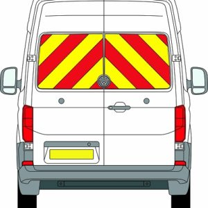 Volkswagen Crafter New H2 Chevrons High Roof 2017 - Present (Window Panels/Prismatic)
