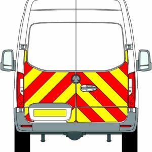 NEW Mercedes Sprinter H2 Chevrons High Roof Rear Wheel Drive 2018 - Present (Half/Prismatic) - Rear Wheel Drive