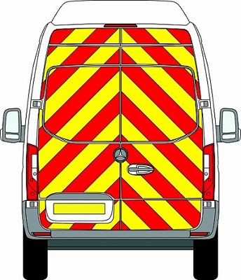 NEW Mercedes Sprinter H3 Chevrons Super High Roof Front Wheel Drive 2018 - Present (Full/Engineering) - Front Wheel Drive