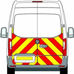 NEW Mercedes Sprinter H3 Chevrons Super High Roof Front Wheel Drive 2018 - Present (Half/Engineering) - Front Wheel Drive
