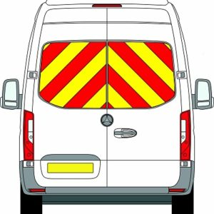 NEW Mercedes Sprinter H3 Chevrons Super High Roof Front Wheel Drive 2018 - Present (Window Panels/Engineering) - Front Wheel Drive