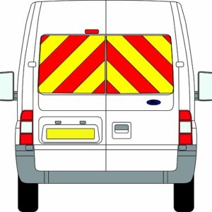 Ford Transit Chevrons Medium Roof 2006 - 2014 (Window Panels/Prismatic)