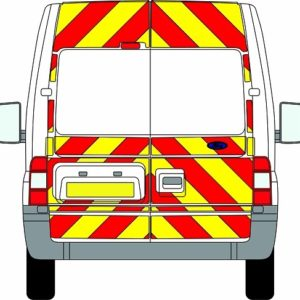 Ford Transit Chevrons Medium Roof 2006 - 2014 (Three Quarter/Prismatic)