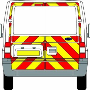 Ford Transit Chevrons Standard Roof 2006 - 2014 (Three Quarter/Prismatic)
