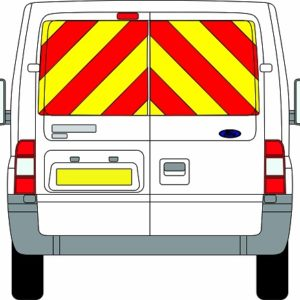 Ford Transit Chevrons Standard Roof 2006 - 2014 (Window Panels/Prismatic)