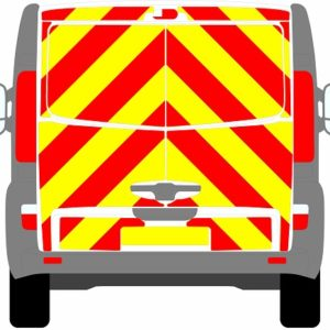 Vauxhall Vivaro Tailgate Chevrons 2001 - 2014 (Full/Engineering)