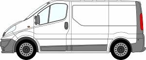 Trafic Tailgate 2001 - 2014