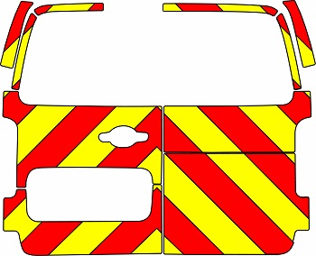 Citroen Dispatch Chevrons 2016 - Present (Three Quarter/Engineering)