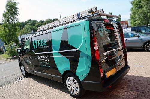 Van Graphics RBE Electrical and Security