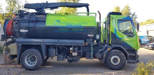 Truck Graphics Wrekin Drain Services