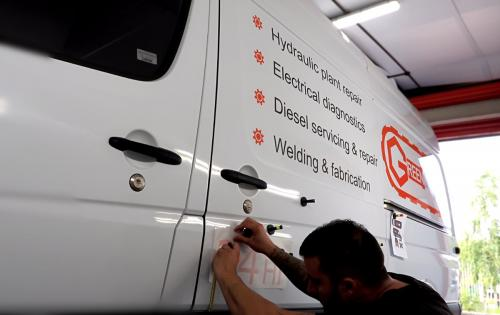 Van Graphics Greenhow - Application