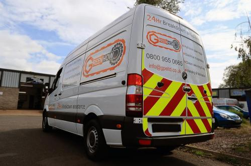 Van Graphics Greenhow