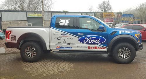 Pickup Graphics Ford F150